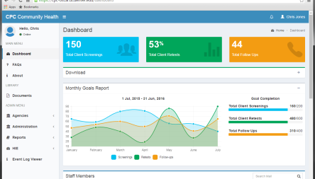 Administrative Web Portal